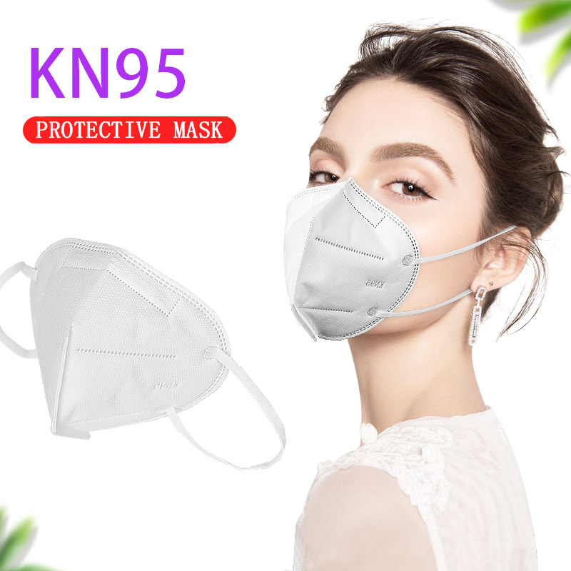 Hot Sale KN95 Dustproof Breathable Face Masks Proof Mask Filtration Features Dust Office Face Mouth Masks