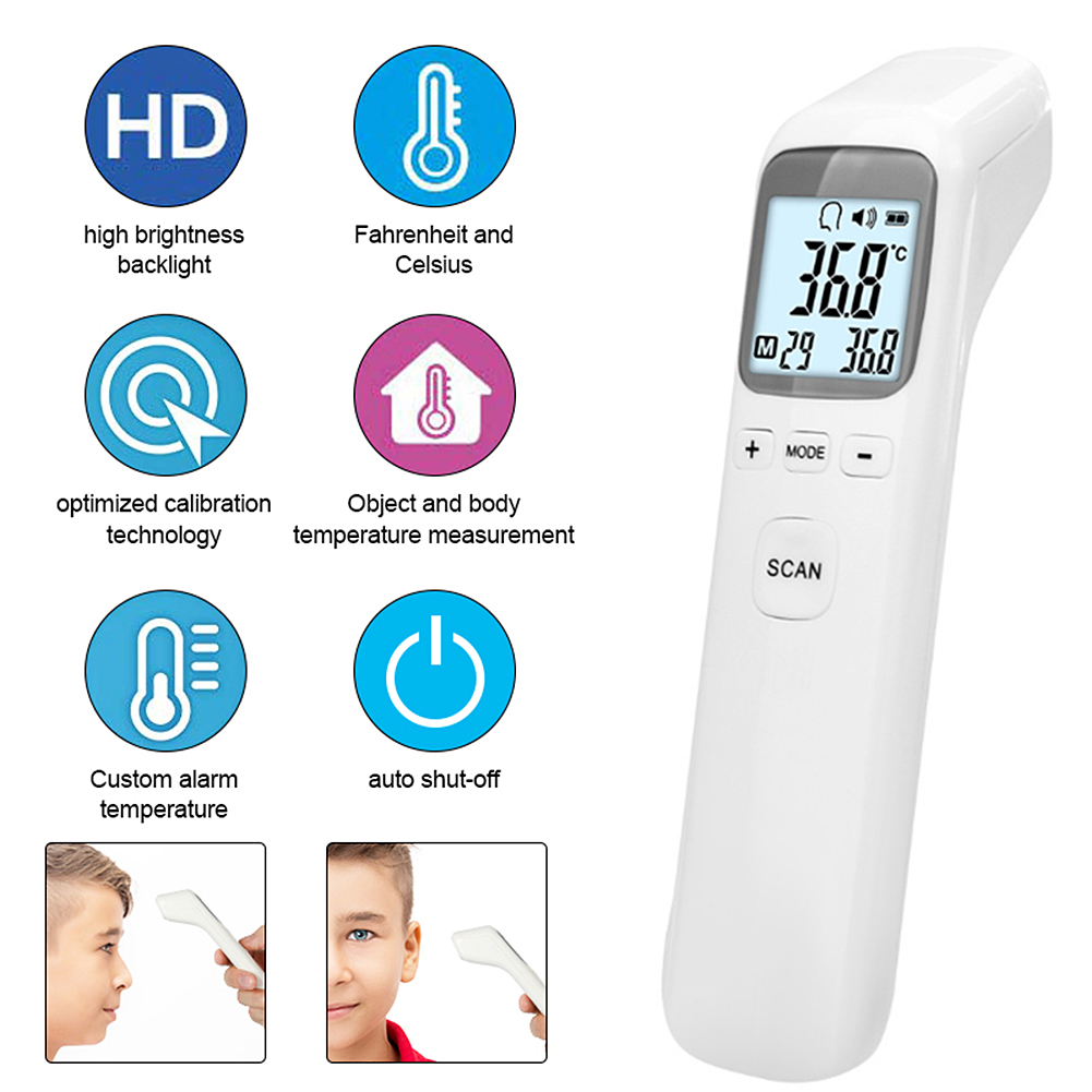 Infrared Electronic Thermometer Baby Children Home Medical High Precision Meter For Baby Fever Ear Forehead Temperature Measure