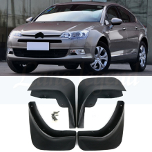 Set Molded Car Mud Flaps For Citroen C5 2008-Onwards Mudflaps Splash Guards Mud Flap Mudguards Fender 2014 Front Rear 2013 2016 molded mud flaps for changan cx20 2011 2019 2012 2013 2014 2016 2017 mudflaps splash guards mud flap front rear mudguards fender