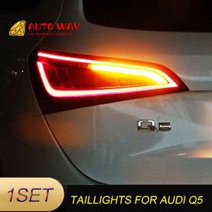 Image 5 - Araba Styling arka lambası park lambaları durumda Audi Q5 arka lambası 2009 2015 LED kuyruk lambası arka bagaj lambası Audi Q5 arka lambaları