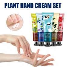 Fruta portátil nutrir creme de mão umidade nutritivo anti-envelhecimento anti chapeamento branqueamento loção de mão creme de mão tslm1
