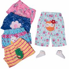 5 sztuk partia spodnie dla niemowląt Cartoon nadruk zwierzęta Babe spodnie w połowie pełnej długości spodnie dla dzieci bawełna odzież dla niemowląt niemowlę legginsy tanie tanio wuruotim COTTON Drukuj Na co dzień Pasuje prawda na wymiar weź swój normalny rozmiar JERSEY Proste py-12 Elastyczny pas