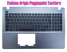 Italiana Cinza palmrest teclado para Asus X552M X552V X550V X550L X550J X550C R510V R510L R510J R510W R510C P550L K550C F552V
