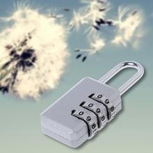 Mini Resettable 3 Digit Combination Travel Luggage Suitcase Code Safe Lock Bag lock tsa resettable 3 digit combination travel luggage suitcase code lock padlock