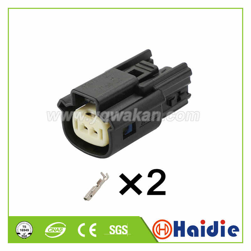 SHENYI 5Pcs 2 Way Female Male Vehicle Speed Accelerator Pedal Connector 33471-0201 33481-0201 Color : Female