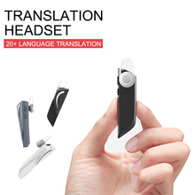 T1 Portable Smart Translation Headphones 33 Languages instant Smart Voice Translator Wireless Bluetooth Business Headset Earplug multifunction wireless instant translation business bluetooth in ear earphone 16 languages any conversion for ios android