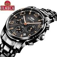 OLMECA Watch Men's Sports Watch Multifunction Waterproof Non mechanical Quartz Watch Custom Watch Men's Wholesale