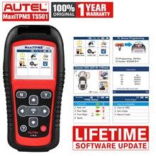 Autel maxitpms TS501 OBD2自動診断タイヤ圧力センサー & コードリーダー