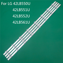 LED TV Illumination Part Replacement For LG 42LB561U 42LB550U 42LB551U 42LB552U LED Bar Backlight Strip Line Ruler DRT3.0 42 A B