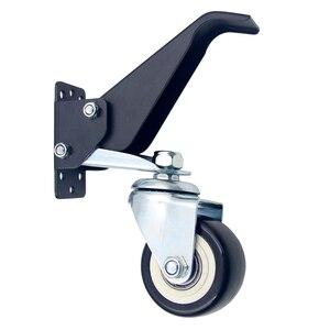 Image 5 - Ruedas móviles rueda de alta resistencia step down 360 grados giratoria mesa de trabajo Universal accesorios muebles Hardware duradero