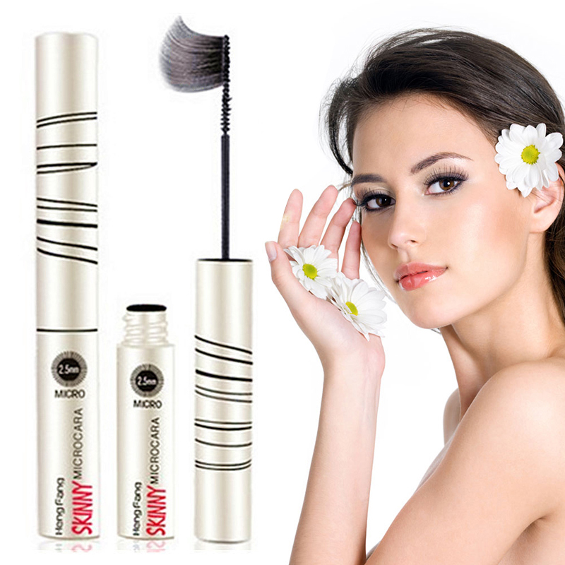 New Curling Mascara 2.5mm Fine Brush Head Quick-drying Mascara Anti-vertigo Durable Waterproof Easy To Wear Eyelashes TSLM2