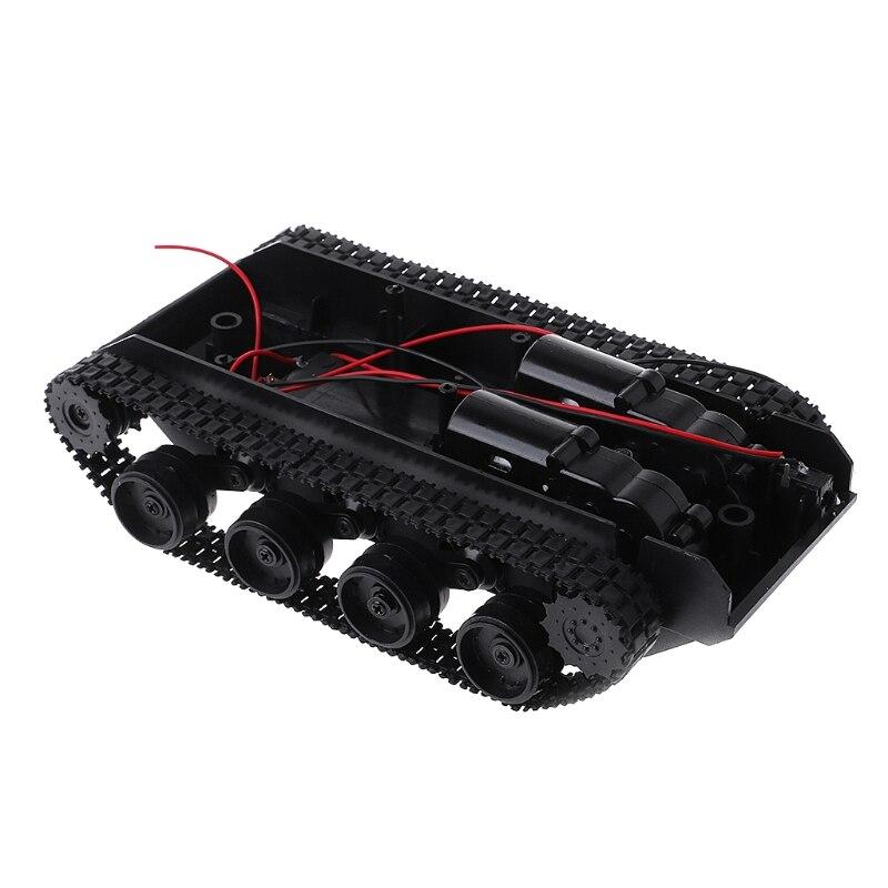 Balance de amortiguación tanque Robot chasis plataforma Control remoto DIY para Arduino Caja de cambio creativo, Caja de Seguro para libro, Caja de Seguro para libro de simulación creativo europeo, Mini tanque de almacenamiento seguro