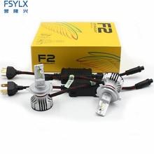 72W фары для 12000LM F2 H4 H7 H8 H11 h13 автомобиля светодиодный фары для шарика противотуманного фонаря F2 H7 H11 H8 9005 9006 H1 880 фары для автомобиля Kit противотуманные фары