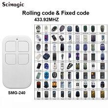 Пульт для ворот Частота автоматического сканирования 433 МГц DOORHAN CAME DEA BENINCA / AN-MOTORS ALUTECH AT-4 клонирование Гаража Пульт дистанционного управления Дубликатор 433,92 МГц плавающий код и фиксированный код