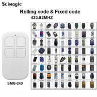 Auto Scan Frequentie 433MHz Klonen Garage Afstandsbediening Duplicator 433.92 MHz Rolling Code en Vaste Code