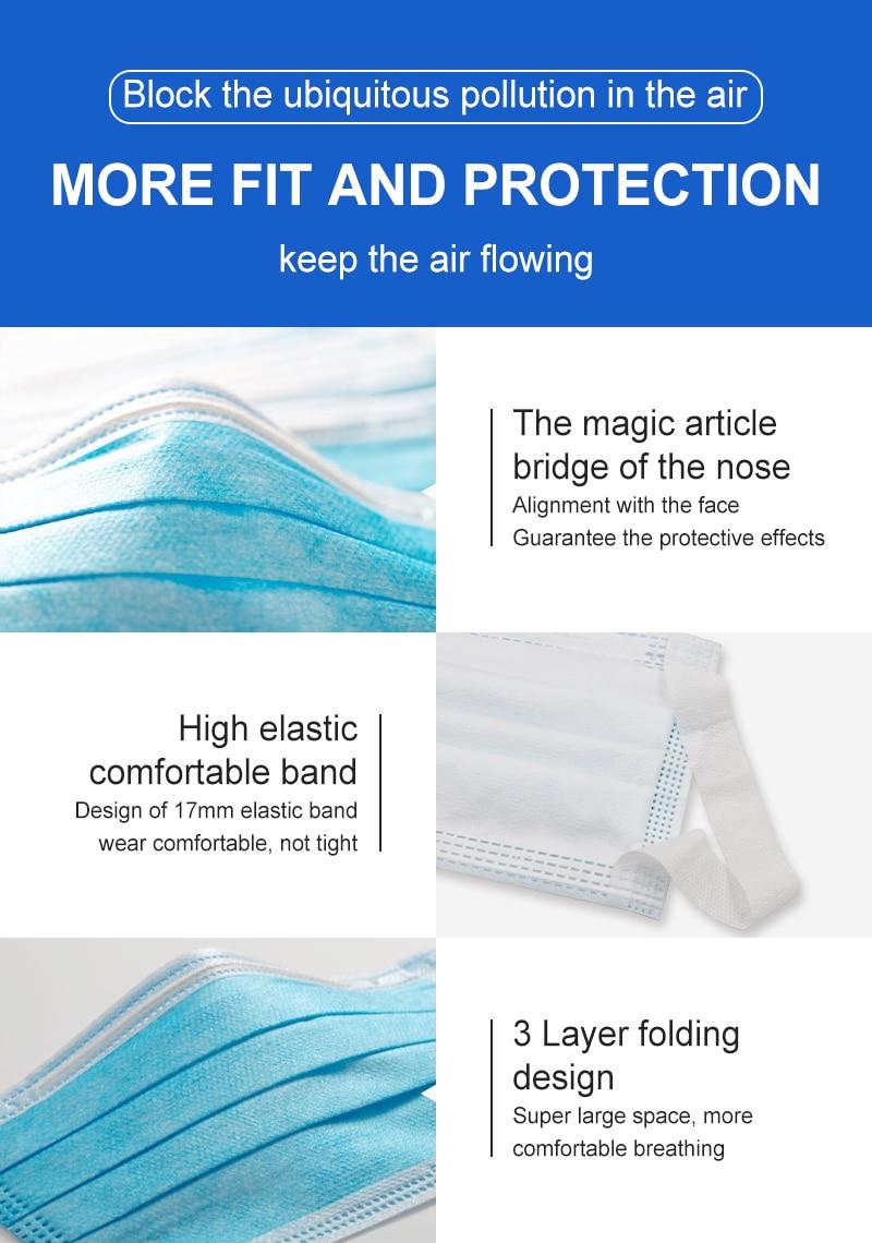 Image 5 - شحن مجاني طبقة المتاح واقية الوجه أقنعة الفم مكافحة nCoV PM2.5  Influenza البكتيرية الوجه الغبار واقية السلامة-في أقنعة الوجه من الجمال  والصحة على