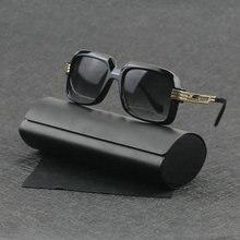 Luxury Classic Women Sunglasses Black Polarized Uv400 Sunglasses High Quality Sun Glasses Retro Hip hop Men Driving Eyewear