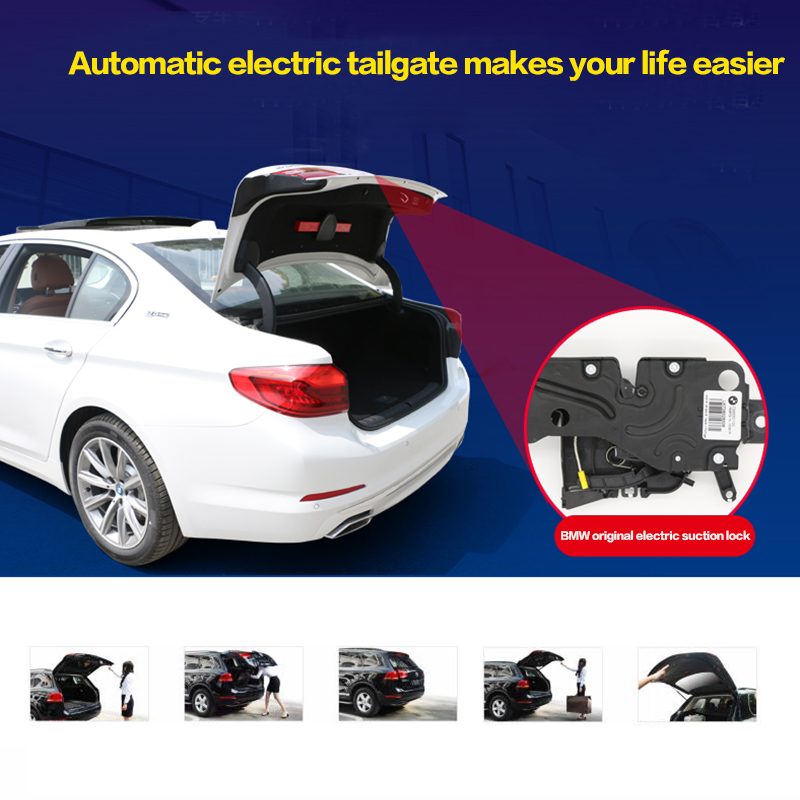 Electric Tailgate For F20 BMW 1 Series Refitted Tail Box Intelligent Foot Sensor Tail Gate Door Power Operated Trunk Opening