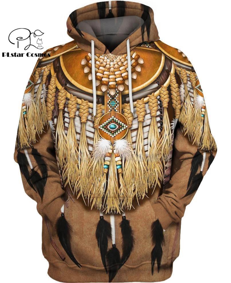 Native Indian 3D Hoodies/sweatshirts Tee Men Women New Fashion Hooded winter Autumn Long Sleeve streetwear Pullover Style-6