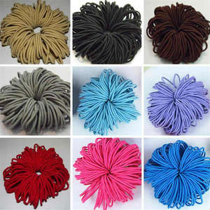 Rubber-Bands Ponytail-Holder Hair-Ties-Accessories Scrunchie Elastic Girls Kids for Nylon