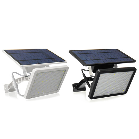 48led 18 w led painel solar alimentado luz jardim lampada de rua a prova dwaterproof