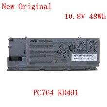 цена на New Original Laptop replacement Li-ion Battery for  Dell JD634 JD648 JD775 JY366 KD489 KD491 10.8v 48Wh