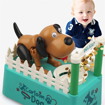 Liberty importuje mój pies Bank -Robotic Coin Munching Toy skarbonka-kradzież skarbonka skarbonka skarbonka Cute Puppy skarbonka tanie i dobre opinie CN (pochodzenie) 13-24m 25-36m 4-6y 7-12y 12 + y Cute Puppy Saving Box Non woven fabric Chiny certyfikat (3C) Certyfikat europejski (CE)