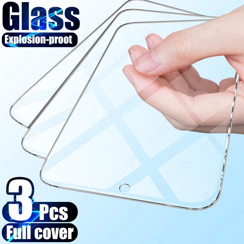 Защитное стекло, закаленное стекло для Samsung Galaxy A50/A51/A71/A70/A20E/A01/A10/A40/A51/A30S/A90/M10, 3 шт.