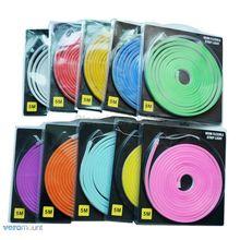Bande lumineuse en caoutchouc, Flexible, SMD LED, 12v, étanche, 5m, 6x12mm, emballage Blister, Tube en caoutchouc, silicone, souple, 5m