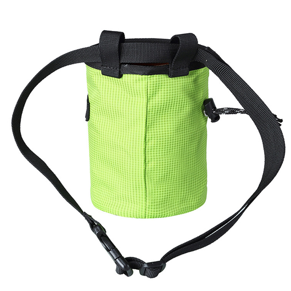 Waterproof Large Capacity Chalk Bag Rock Climbing Portable Waist Hanging Non Slip Wear Resistant Adjustable Strap Powder Pouch