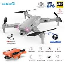 2021 nova s608pro gps zangão 6k câmera dupla profissional fotografia aérea sem escova dobrável quadcopter rc distância 3000m presentes
