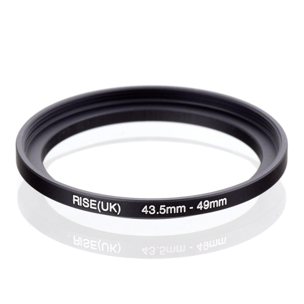 RISE(UK) 43.5mm-49mm 43.5-49 Mm 43.5 To 49 Step Up Filter Ring Adapter