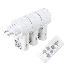 Mini toma de corriente inteligente Universal para el hogar, RF, 433mhz, Control remoto inalámbrico, Compatible con Broadlink RM4 Pro