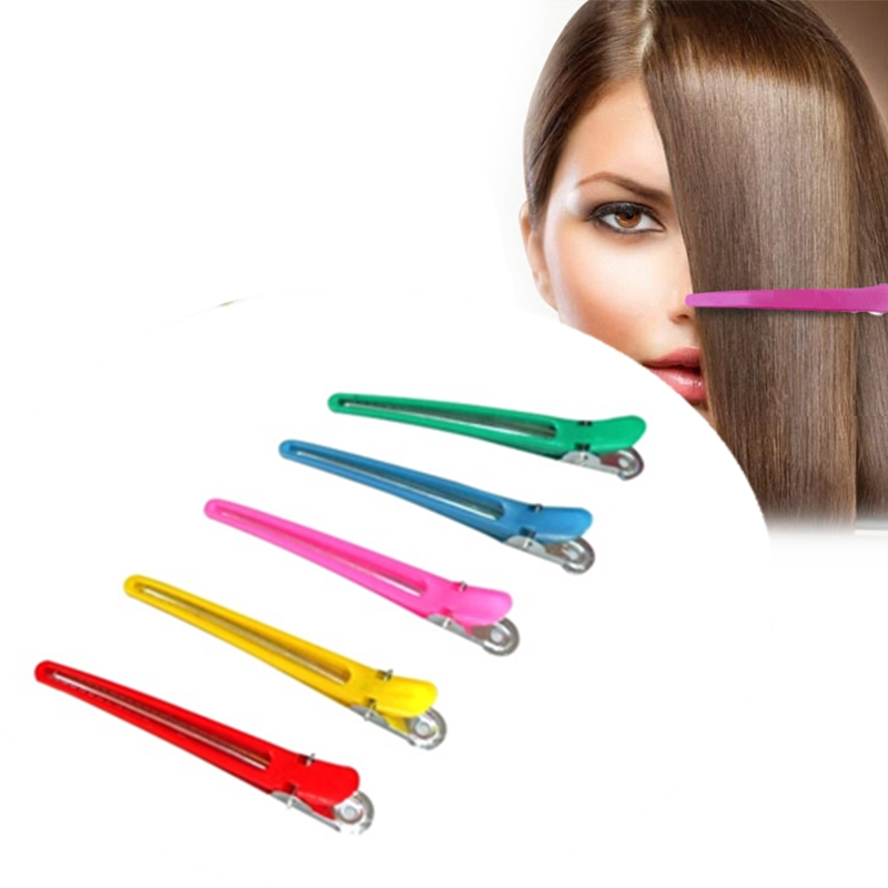 1/10Pcs Salon Hairpins Dedicated Section Grip Hair Clips Plastic Hairdressing Braiding Hair Pins Styling Tool Barrette Hairclip