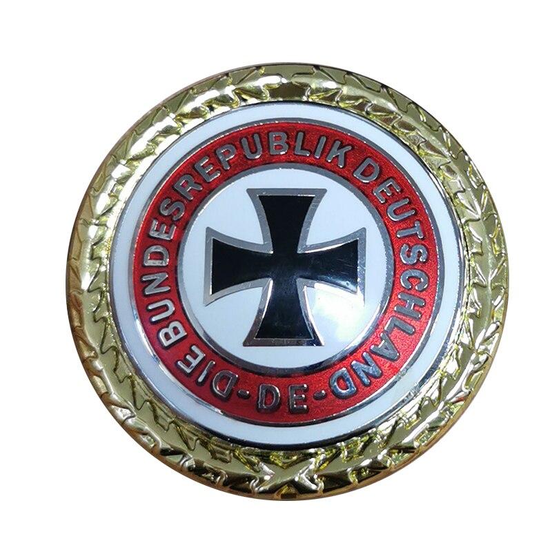 German Federal Republic brooch iron cross Deutschland retro collection Brooches    - AliExpress