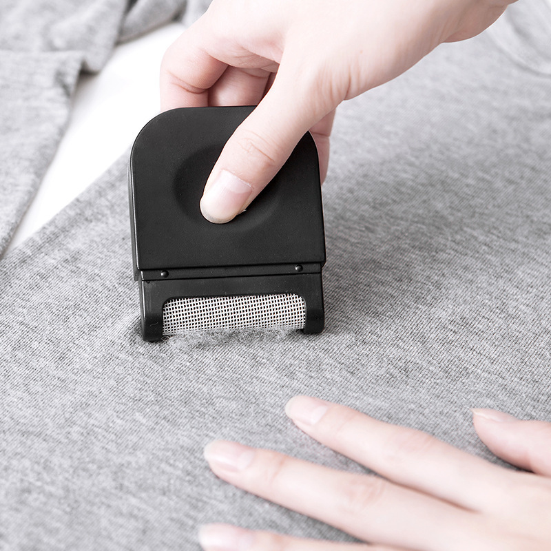 New 1pc 6.4*2*8cm Lint Clothes Sweater Shaver Fluff Fuzz Fabrics Portable Remover Pill Handheld Dust Lint Remover