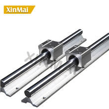 2 Sets Linear Rail SBR12 800mm Linear Rail Slide With 4 pcs SBR12UU Bearing Block for CNC Router 12mm linear rail 2pcs sbr12 700mm supporter rails 4pcs sbr12uu blocks for cnc linear shaft support rails and bearing blocks