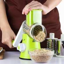 LOYPA Kitchen Tool Hand Slicer Vegetable Cutter Manual Spiral Cheese Grater Clever Chopper