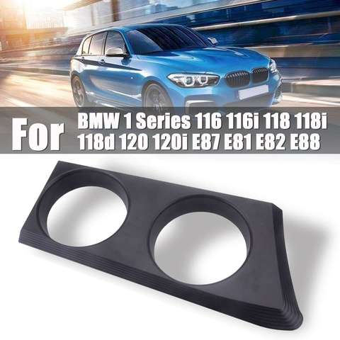 suporte de copo de carro a frente portatil aluminio preto acessorios para carro para bmw