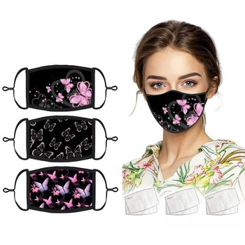 3PCS Unisex Cotton Mouth Mask Reusable Dustproof Washable Face Mask Anime Masks Earloop For Cosplay Party Women Mascarillas cotton dustproof anime cartoon lucky bear mask combed cotton skull mouth masks half muffle face mask 1 piece
