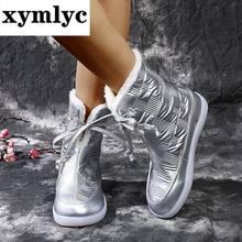 Женские ботильоны обувь на плоской подошве Женская Роскошная