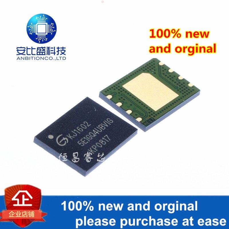 1pcs 100% New And Orginal GD5E1GQ4UBVIG Silk-screen 5E1GQ4UBVIG 1G QFN8 In Stock