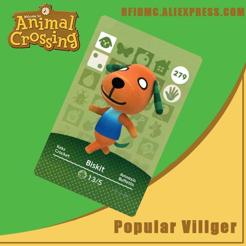279 Biskit Animal Crossing Card Amiibo For New Horizons