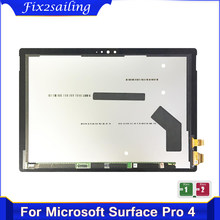 12.3'' For Microsoft Surface Pro 4 (1724) LTN123YL01-001 LCD Screen with touch Panel digitizer full Assembly