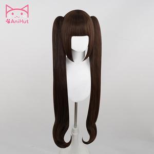 Image 2 - 【Anihut】chocola nekoparaコスプレウィッグチョコレート耐熱人工毛チョコラコスプレ毛