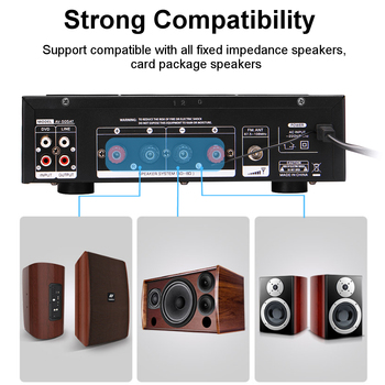 Усилитель мощности SUNBUCK AV-505AT, Bluetooth, USB, FM 4