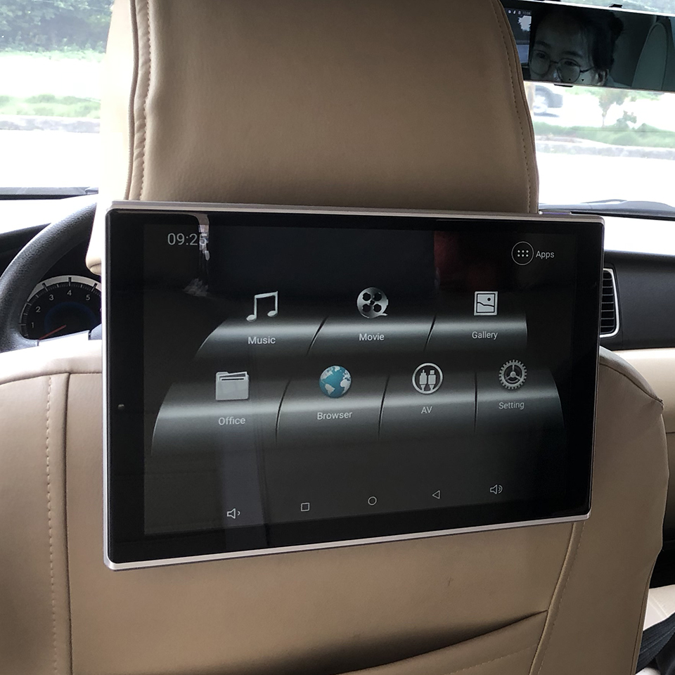 Cars With DVD Player In Headrest TV Monitor For <font><b>Lexus</b></font> <font><b>GS</b></font> Class Android 9.0 Rear Seat Entertainment Systems 4K HD Playback image
