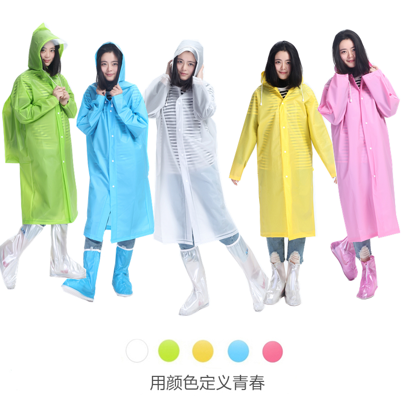 Travel Rain Coat Impermeable Transparent Women Coat Waterproof Men Motorcycle Poncho Blouse Jetable Reusable Raincoat MM60YY(China)