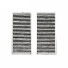 فلتر الهواء بالكابينة لمرسيدس بنز S-CLASS W220 S280L S320L S350L S500 S600L 2000-2005 نموذج فلتر الكربون المنشط اكسسوارات السيارات