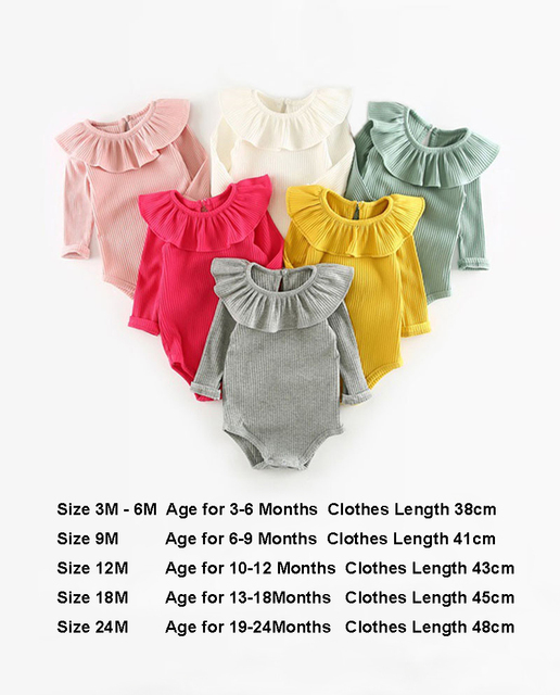Baby Girl Romper 0-2Y Spring Newborn Baby Clothes For Girls Long Sleeve Kids Boys Jumpsuit Baby Boys Outfits Clothes Summer 5